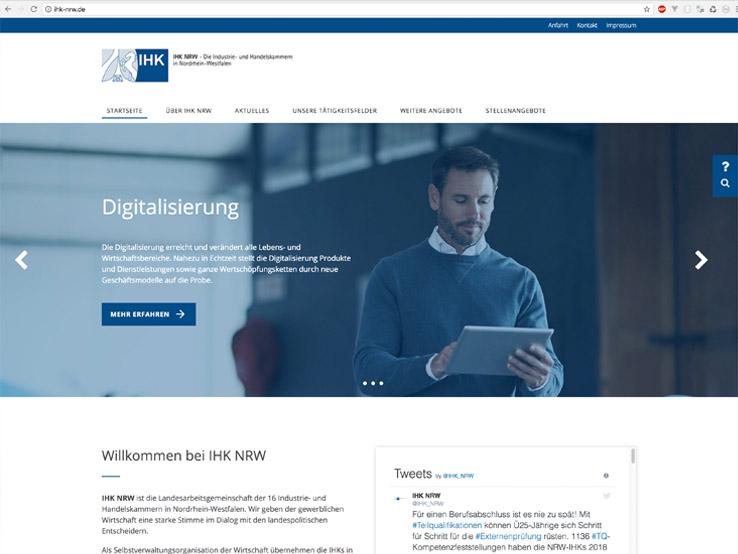 Responsives Webdesign und Umsetzung auf Basis des OctoberCMS